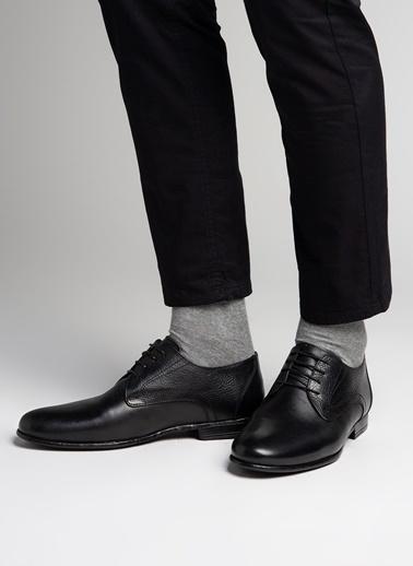 Cotton Bar Klasik Ayakkabı Siyah